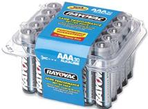RAYOVAC AAA Cell Alkaline Battery 30 pack
