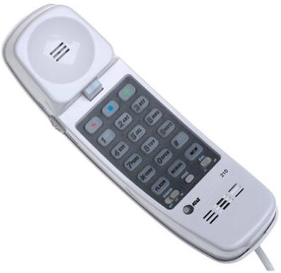 AT&T 210 Trimline Corded Phone
