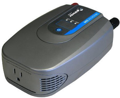 Power Inverter provides AC Power from the car